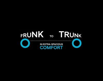 Il comfort ultraspazioso dal vano di carico anteriore a quello posteriore del SUV Crossover compatto 100% elettrico Hyundai IONIQ 5.