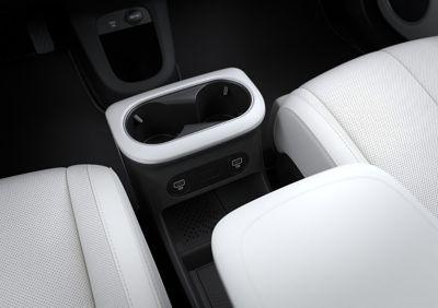 La console centrale scorrevole di Hyundai IONIQ 5
