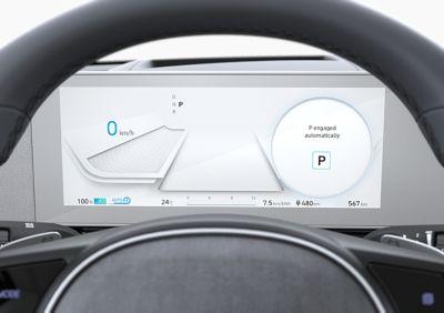 Il cluster interamente digitale da 12.3'' del SUV Crossover compatto 100% elettrico Hyundai IONIQ 5.