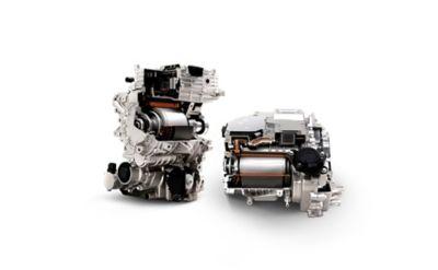 Due potenti motori elettrici da 305 CV nel SUV Crossover compatto 100% elettrico Hyundai IONIQ 5.
