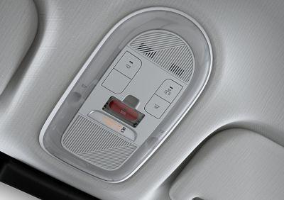 E-call chiama automaticamente i servizi d'emergenza nel SUV Crossover compatto 100% elettrico Hyundai IONIQ 5.