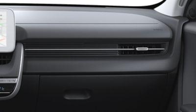 Las tres opciones de color para el interior del Hyundai IONIQ 5 Eléctrico: Obsidian Black.