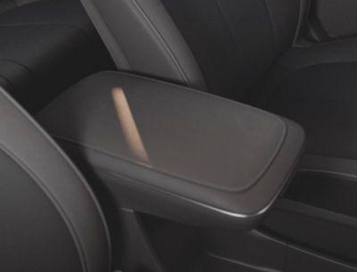 The sliding centre console inside the Hyundai IONIQ 5 Project 45 all-electric compact SUV.
