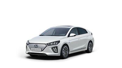 Cutout image of the Hyundai IONIQ Electric.
