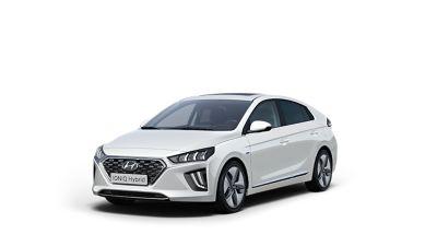 Cutout image of the Hyundai IONIQ Hybrid