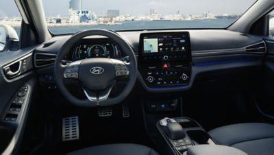 Immagine degli interni di Nuova Hyundai IONIQ Electric.