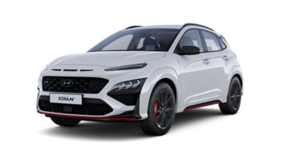 Clearcut of the all-new Hyundai KONA N