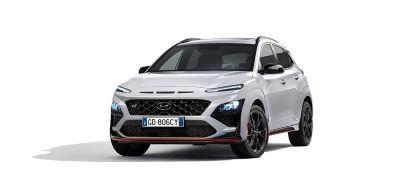 Immagine frontale di Nuova Hyundai KONA N