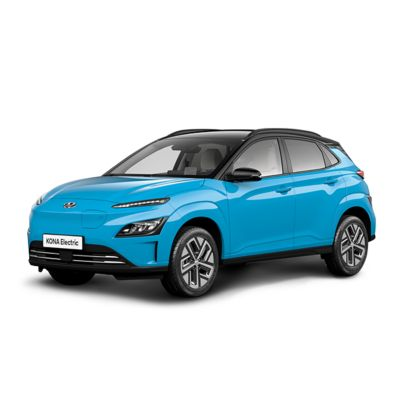 Cutout image of the Hyundai Kona Electric.