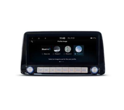 Il profilo utente personalizzato in Nuova Hyundai Kona Electric.