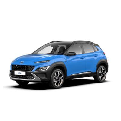 Zdjęcie Nowego Hyundaia Kona bez tła.