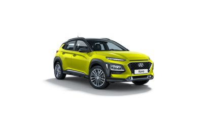 Photo of the all-new Hyundai Kona's exterior.