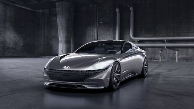 Rendering of the exterior of the 2018 Le Fil Rouge concept car.