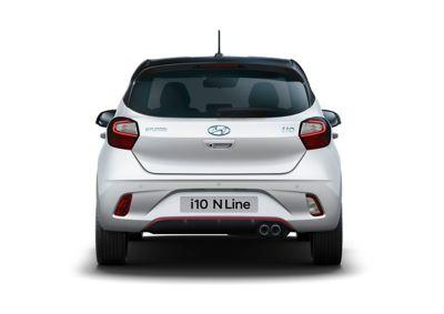 Hyundai i10 N Line rear view