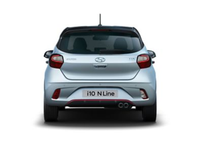 All-New Hyundai i10 N Line rear view