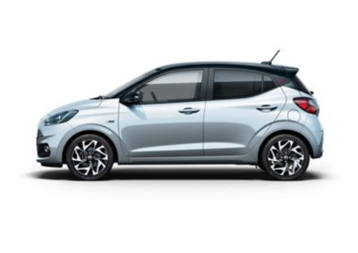 The All-New Hyundai i10 N Line side view