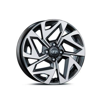 The Hyundai i10 N Line wheel
