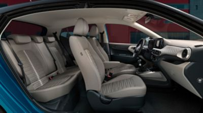 Image showing the roominess of the Hyundai i10.