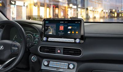 MapCare i en Hyundai. Foto.