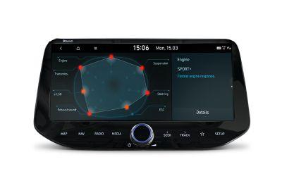 N Custom Mode settings for the new Hyundai i30 Fastback N