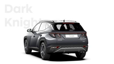 The different color options for the all-new Hyundai Tucson compact SUV: Dark Knight.