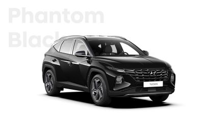 The different color options for the all-new Hyundai Tucson compact SUV: Phantom Black.