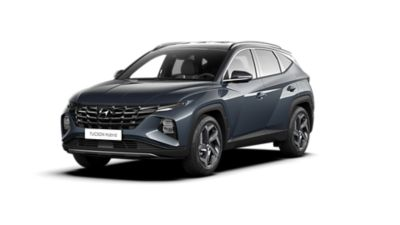 Cutout image of the Hyundai TUCSON Hybrid