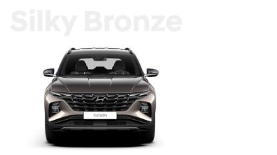 The different color options for the all-new Hyundai Tucson compact SUV: Silky Bronze.
