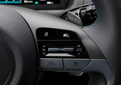 Le leve al volante del Nuovo SUV compatto Hyundai TUCSON Plug-in Hybrid.