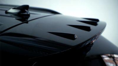 Dettaglio dello spoiler posteriore di Nuova Hyundai TUCSON N Line.