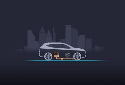 Il sistema di frenata rigenerativa ricarica la batteria mentre rallenta Nuova Hyundai TUCSON Plug-in Hybrid.