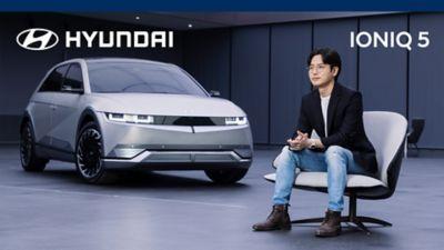 Video che evidenzia i biocomponenti e i materiali riciclati utilizzati per Hyundai IONIQ 5
