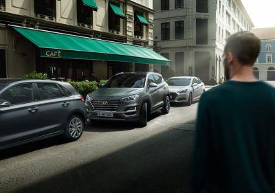 Hyundai viser hvordan noen førerassistentsystemer i SmartSense fungrer. Video.
