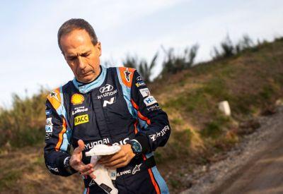 Pilot Hyundai Motorsport Carlos del Barrio