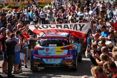 Hyundai Poland Racing tłum fanów