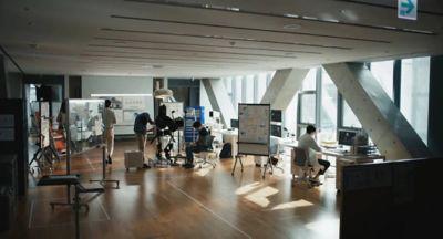 People at work in Hyundai Motor's Robotic Lab