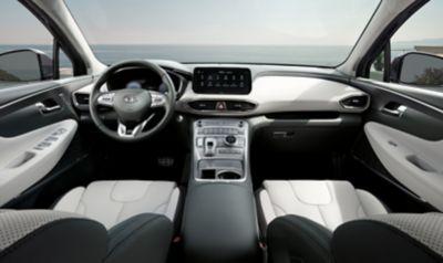 Vista interna di tutti i posti di Nuova SANTA FE Plug-in Hybrid, il SUV a 7 posti di Hyundai