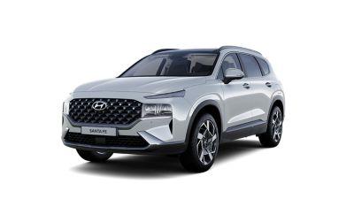 Cutout image of the new Hyundai Santa Fe
