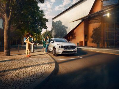 De nieuwe Hyundai Santa Fe Plug-in Hybrid. Gedurfde SUV-pionier.