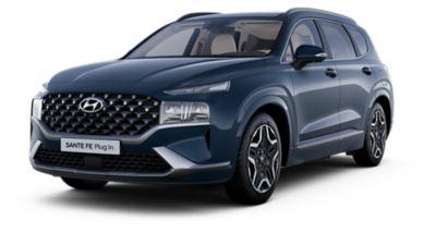 Cutout image of the new Hyundai Santa Fe Hybrid