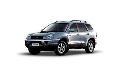 Zdjęcie SUV-a Hyundai Santa Fe pierwszej generacji