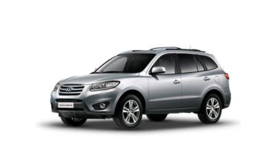 An image of the second generation Hyundai Santa Fe SUV.