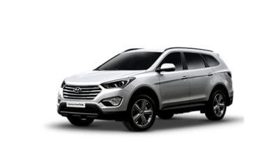 Zdjęcie SUV-a Hyundai Santa Fe trzeciej generacji