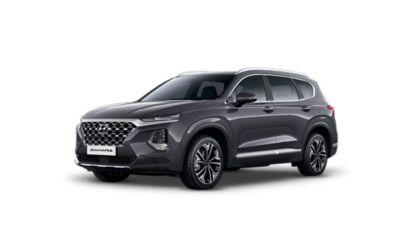 Zdjęcie SUV-a Hyundai Santa Fe czwartej generacji