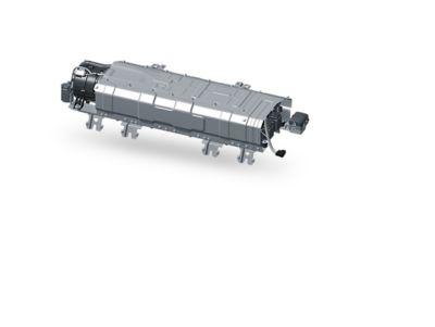 Illustrazione della batteria ai polimeri di litio di Nuova Hyundai Santa Fe Hybrid