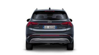 Nuovo design dei fari posteriori del SUV 7 posti Nuova Hyundai Santa Fe Hybrid