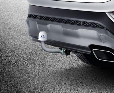 Genuine Accessories tow bar for the Hyundai SANTA FE.