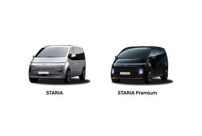 Hyundi Staria a Staria Premium.