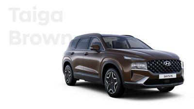 The exquisite exterior colours of the new Hyundai SANTA FE Hybrid: Taiga Brown