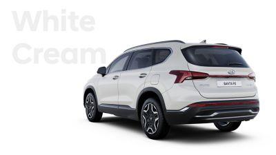 The exquisite exterior colours of the new Hyundai SANTA FE Hybrid: White Cream